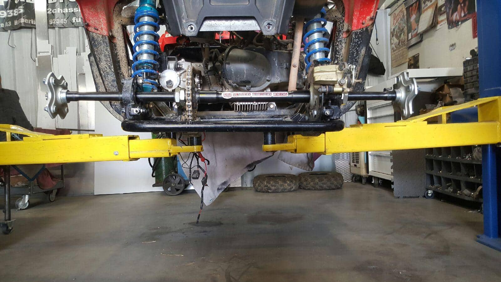 RZR 170 REAR AXLE | Summers Brothers Racing